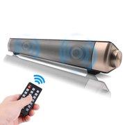 TSV Wireless Speaker Sound Bar, TV Home Theater Soundbar Bluetooth 4.0 Sound Bar Speaker System