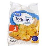 Great Value Frozen Cheese Tortellini, 19 oz