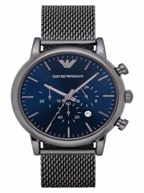 Emporio Armani Men's Gunmetal Stainless Steel Classic Dress Watch AR1979