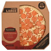 Marketside Traditional Crust Pepperoni Pizza, Extra-Large, 41 oz