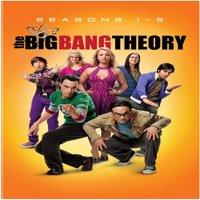 The Big Bang Theory: Season 1 - 5 (DVD)