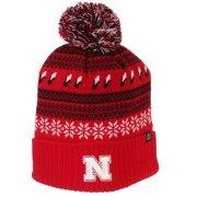 070b328c6f4 Nebraska Cornhuskers Zephyr Carousel Pom Knit Beanie