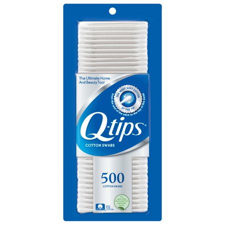Q-tips Cotton Swabs, 500 ct