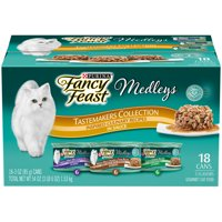 Purina Fancy Feast Medleys Tastemakers Collection Adult Wet Cat Food Variety Pack - (18) 3 oz. Cans