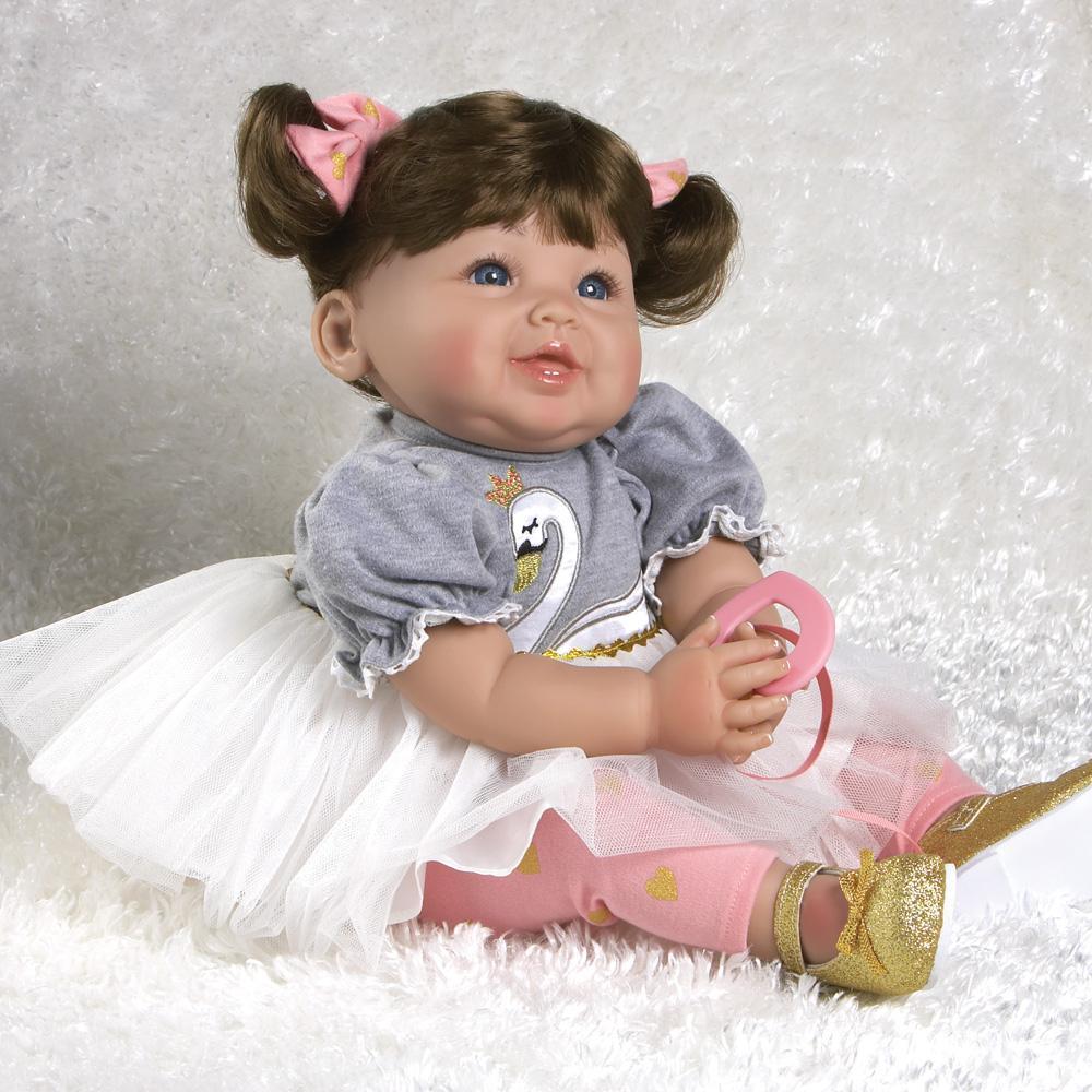 "Ballerina /& Me Doll Alice 17/"" Blonde"