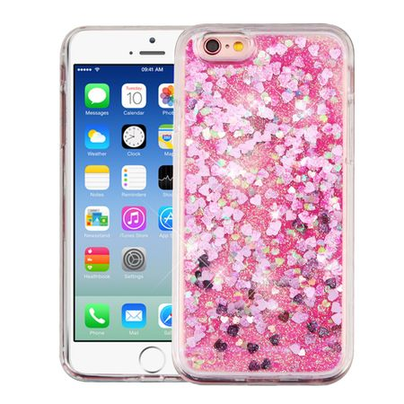 - iPhone 6s case by Insten Luxury Quicksand Glitter Liquid Floating Sparkle Bling Fashion Phone Case Cover for Apple iPhone 6s / 6