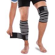 4fd94a5c4 Yosoo Knee Wraps Calf Compression Knee Sleeve Thigh Adjustable Wrap Leg  Elastic Support Brace for Women
