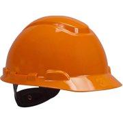 3b69b389307 3M H-706R Orange 4 Point Ratchet Suspension Hard Hat