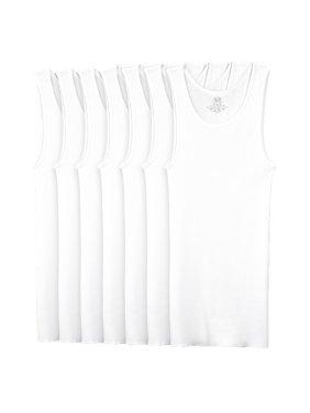 Super Value Classic White A-Shirts, 7 Pack (Little Boys & Big Boys)