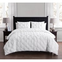 VCNY Home Atoll Circular Embossed 2/3 Piece Bedding Duvet Cover Set with Shams, Multiple Colors and Sizes Available