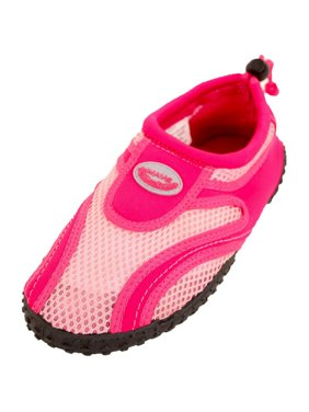 Wave Women's Drawstring Slip On Aqua Socks Water Shoes