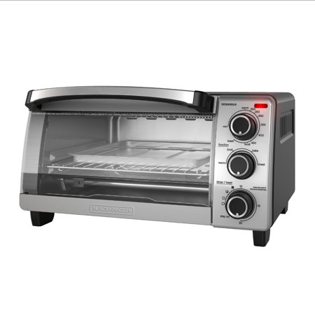 BLACK+DECKER Natural Convection Toaster Oven, Stainless Steel,