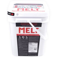 MELT 25 lb Bucket Calcium Chloride Pellets Professional Strength Ice Melter