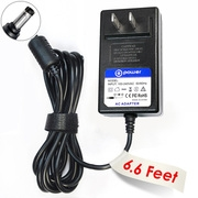 T-Power ((6.6ft Long Cable)) Ac Dc adapter for 12V Horizon Fitness EX-59 EX-79 Elliptical Trainer Exercise Charger Power Supply Cord