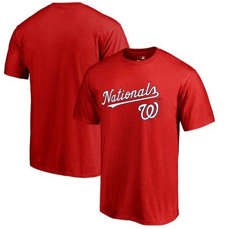 Washington Nationals Fanatics Branded Team Lockup T-Shirt -