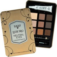 Hard Candy Look Pro 926 Neutral Eyeshadow Palette, 1 ct