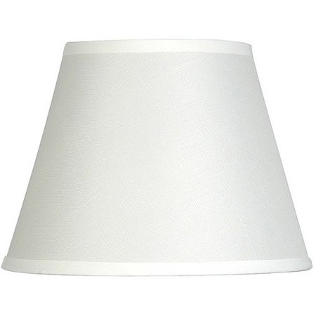 "Mainstays 10"" Textured Accent Lamp Shade, Off White"