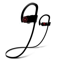 Bluetooth Headphones, Wireless Earbuds Microphone, Sports Earphones, IPX7 Waterproof , Noise Cancelling HD Stereo Running Gym, up to 8 Hours Working Time