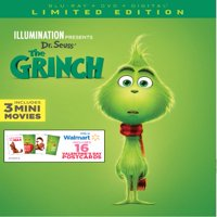 Dr. Seuss The Grinch (Blu-ray + Digital + Exclusive Gift)