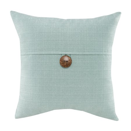 - Mainstays Dynasty Coconut Button Accent Decorative Throw Pillow, 18