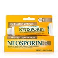 Neosporin Pain Itch Scar Antibiotic Ointment Plus Pain Relief, 1 oz
