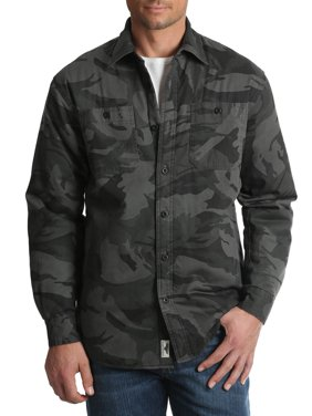 Men's and Men's Big Sherpa Lined Flannel Shirt, up to Size 3XL