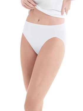 Hanes Women's Cotton Hi-Cut Panties - 10 Pack