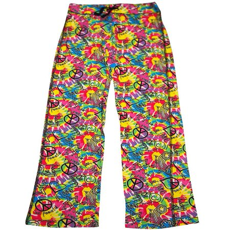 Fancy Pants Designs (Fancy Girlz - Junior Girls Lounge Pant be happy multi / Small )