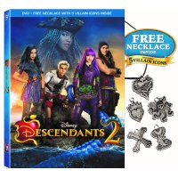 Disney Descendants 2 (DVD + Free Necklace With 5 Villain Icons)