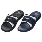 Men s Rubber Slide Sandal Slipper Comfortable Shower Beach Shoe Slip On e02405f02