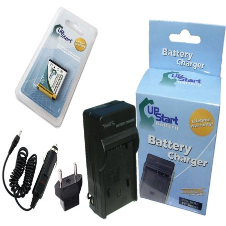 Ipod Touch Battery Charger (Kodak EasyShare Touch M5370 Battery and Charger with Car Plug and EU Adapter - Replacement for Kodak KLIC-7006 Digital Camera Batteries and Chargers (800mAh, 3.7V, Lithium-Ion))