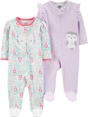 Sleep N Play Bundle, 2 pack (Baby Girls)