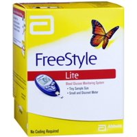 FreeStyle Lite Blood Glucose Monitoring System 1 Each (Pack of 6)