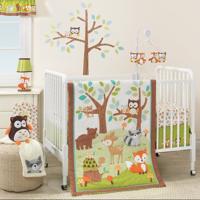 Lambs & Ivy Bedtime Originals Friendly Forest 3 Piece Crib Bedding Set