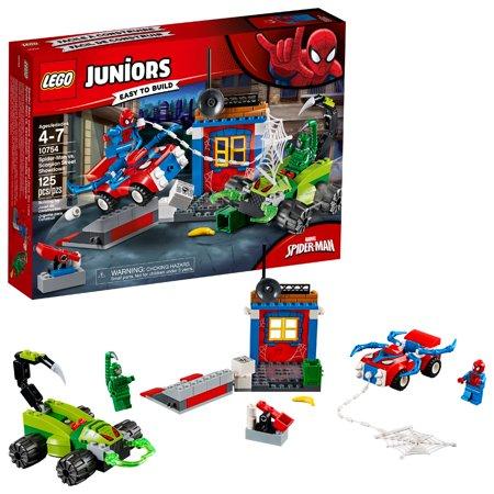 - LEGO 4+ Spider-Man vs. Scorpion Street Showdown 10754