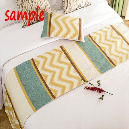 GCKG Family Rules Educational Bed Runner Bedding Scarf Bedding Decor 20x95 inches - image 1 of 2
