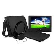 Best DVD Players - Ematic EPD909BL Swivel Portable DVD Player with Headphones Review