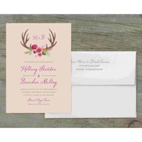 Woodland Fantasy Deluxe Wedding Invitation