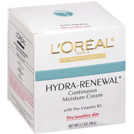 Effective Moisture - L'Oreal Paris Hydra-Renewal Continuous Moisture Cream