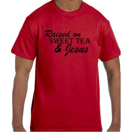 Christian Jesus Raised On Sweet Tea & Jesus T-Shirt