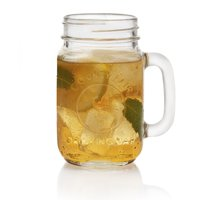 Libbey Handled Drinking Jar 8-Piece Set, Glass