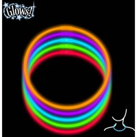 """22"""" Halloween Glow Necklace Party Favors, 20-Count"""