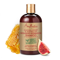 Manuka Honey & Mafura Oil Intensive Hydration Shampoo - Replenishes Dry, Damaged Natural Hair - Sulfate-Free with Natural & Organic Ingredients - Infuses Moisture into Curly, Coily Hair (13 oz)