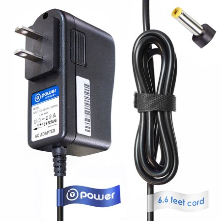 T-Power ( 6.6 ft Long Cable ) for Ooma Telo Free Home Phone Service VoIP Phone and Device serial number : ms1245k part number p/n: 110-0110-251 Replacement Ac Dc adapter Charger Power Supply