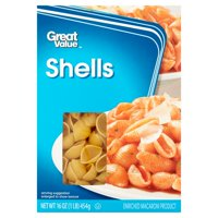 (4 pack) Great Value Shells, 16 oz