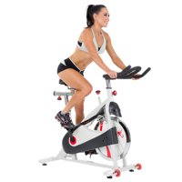 Sunny Health & Fitness SF-B1509 Indoor Cycle Exercise Bike, Belt Drive