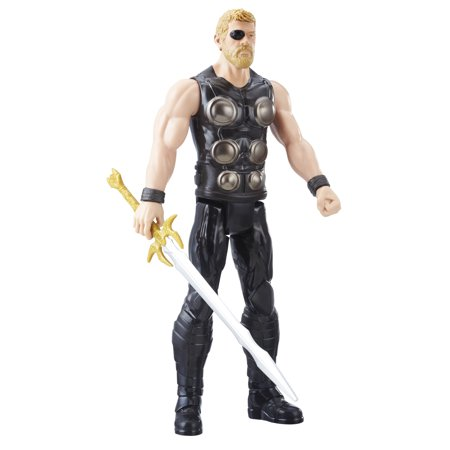 Marvel Infinity War Titan Hero Series Thor with Titan Hero Power FX - Big Hero 6 Marvel