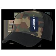 4865d417 Decky Cotton Camouflage Hats Hat Cap Caps Snapback For Men Women  Black/Woodland/Black