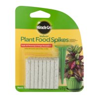 Miracle-Gro Indoor Dry Plant Food Fertilizer Spikes