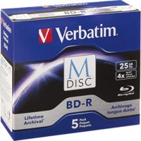 Verbatim 98900 4x M-Discs with Branded Surface
